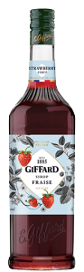 STRAWBERRY SYRUP 1L