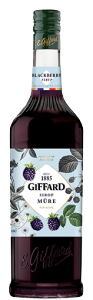 BLACKBERRY SYRUP 1L